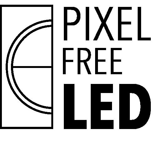 Pixel-Free LED